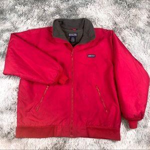 LANDS END Polartec AirCore 200 Pink Fleece Jacket